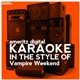 Karaoke (In the Style of Vampire Weekend)