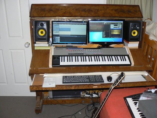 Piano mueble foro de piano pianistas m sica cl sica - Muebles para estudio de grabacion ...