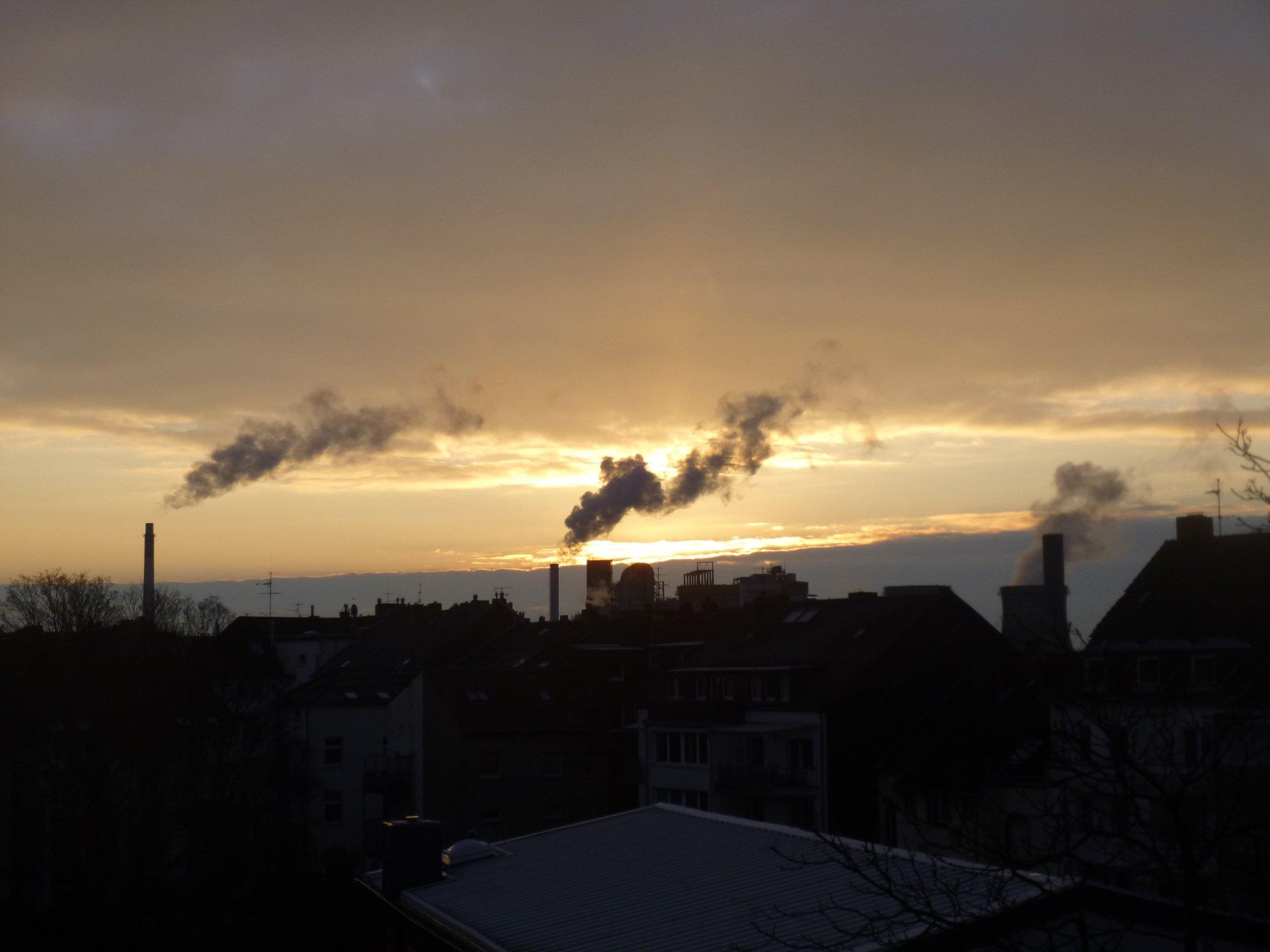 Sonnenaufgang - 5.2.2015