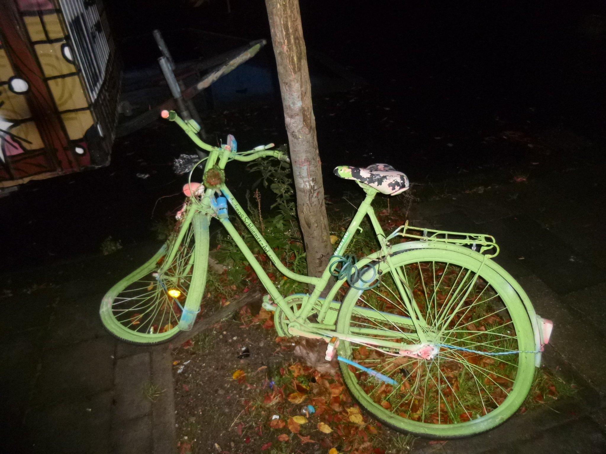 Fahrrad - verbeult