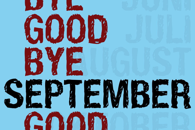 Good Bye September