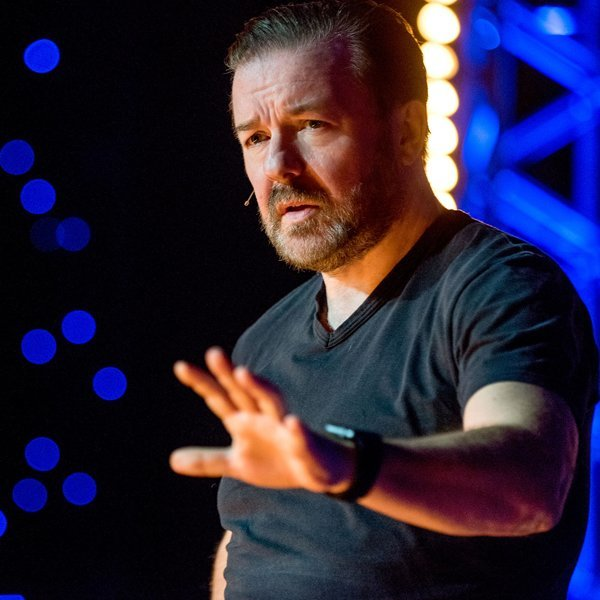 Ricky Gervais compares himself to Jesus in Netflix comedy special trailer