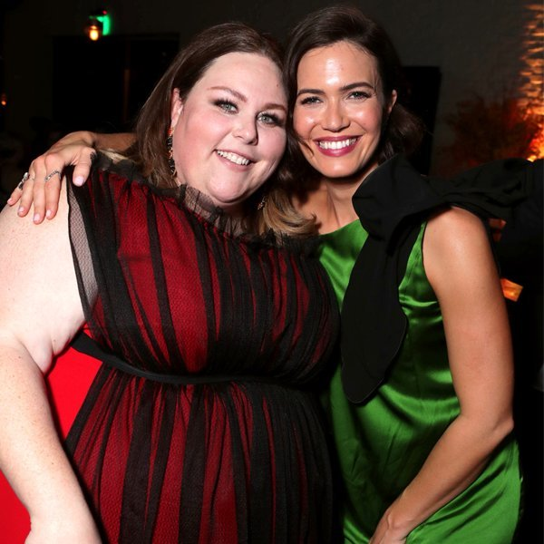 Mandy Moore Supports This Is Us Costar Chrissy Metz at the Premiere of Her New Movie