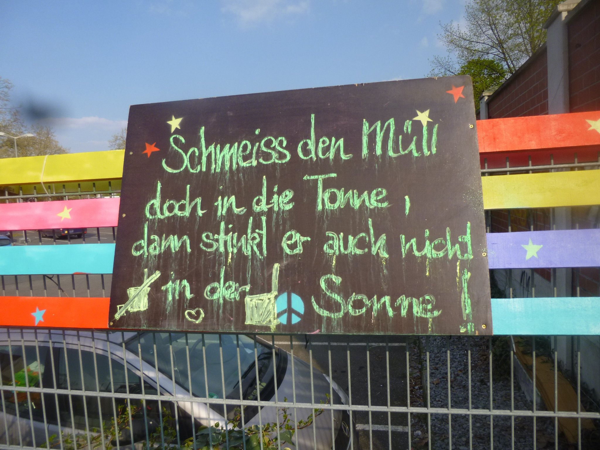 Spruch des Tages - Müll