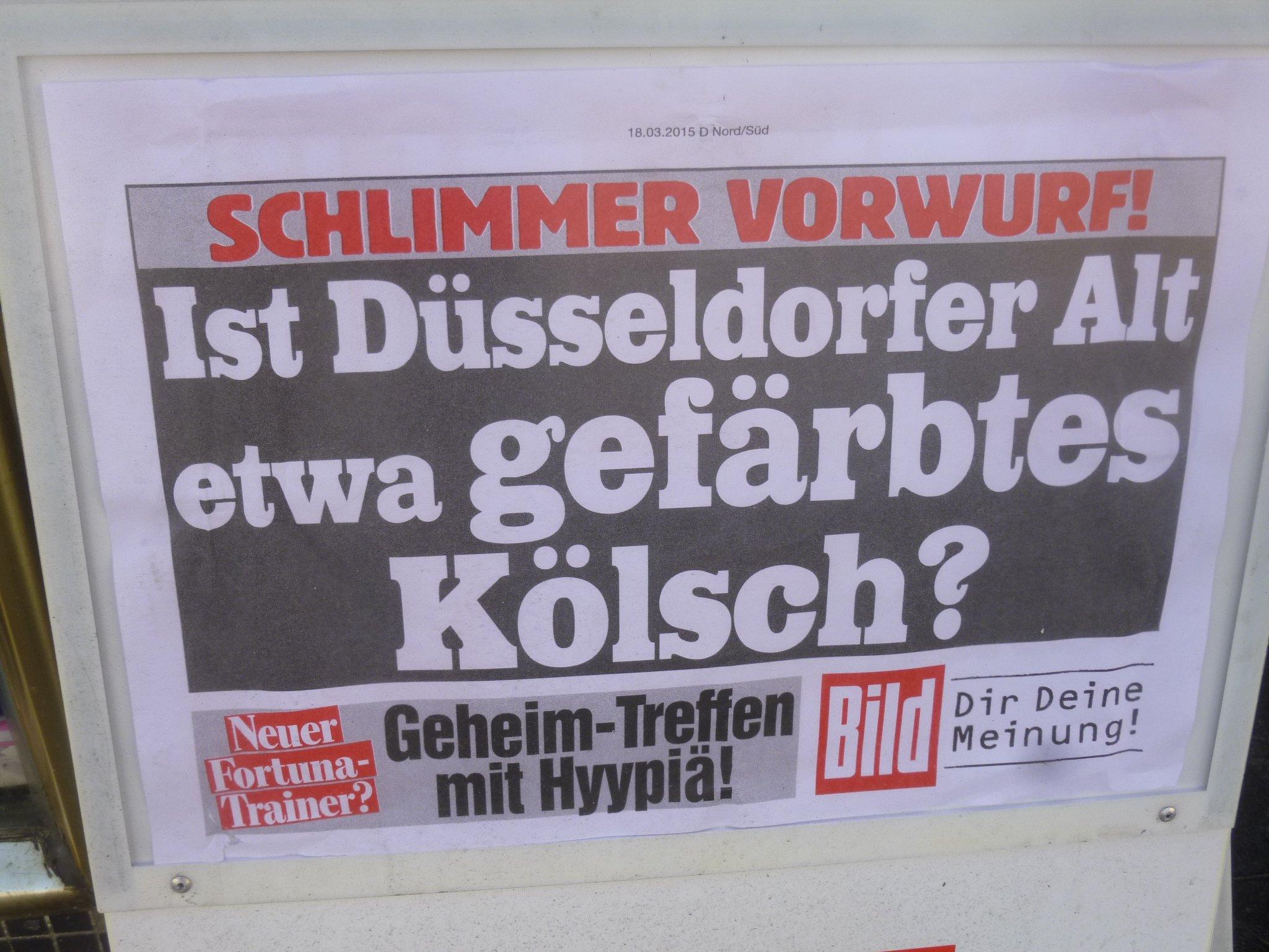 BILD Alt vs Kolsch