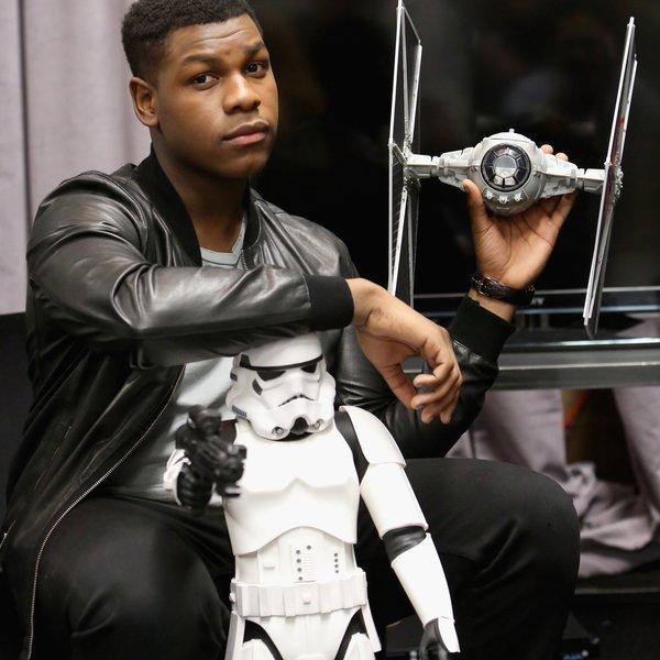 John Boyega Teases 'Frustrating' 'Star Wars 8' Scenes