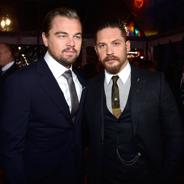Tom Hardy Has to Get a Leonardo DiCaprio Tattoo After Losing a Bet to Him