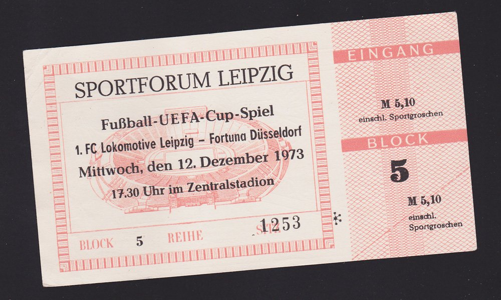 Leipzig vs Fortuna 1973