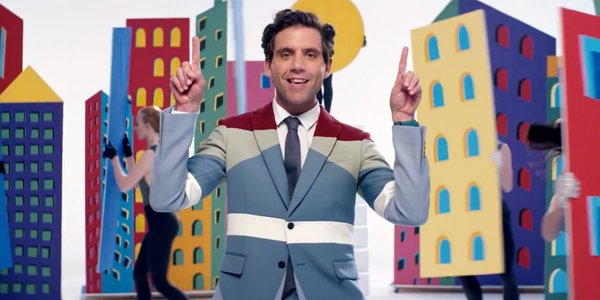 MIKA Dances With Cut-Outs, Wears Awesome Suits In