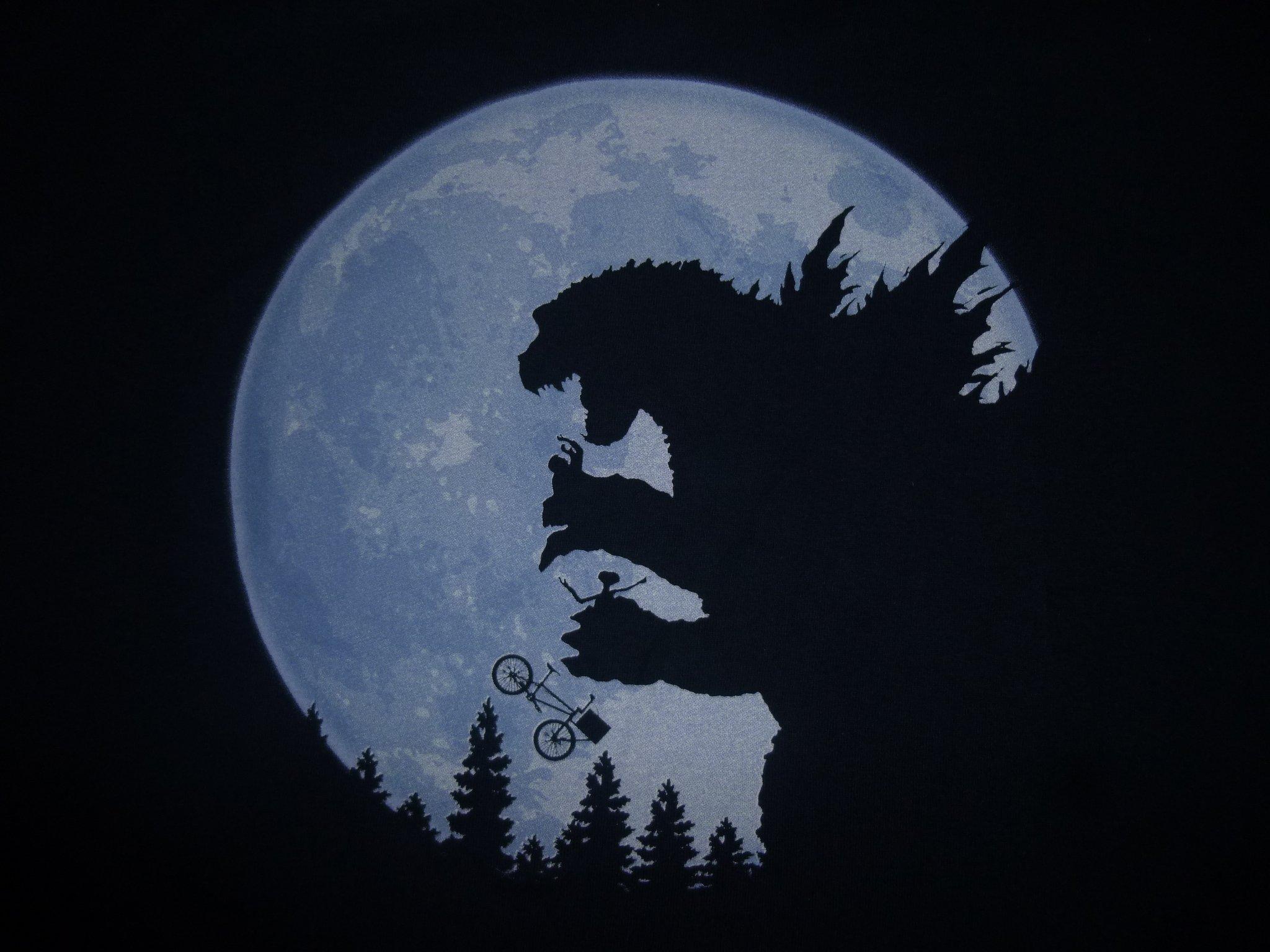 T-Shirt Godzilla vs ET