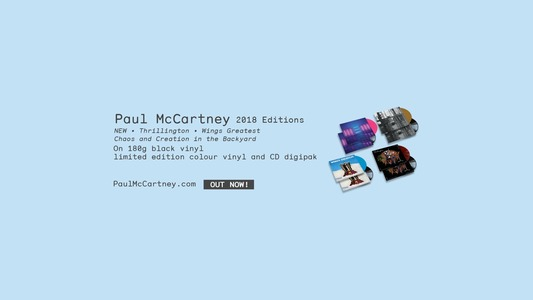 Paul McCartney | Listen and Stream Free Music, Albums, New