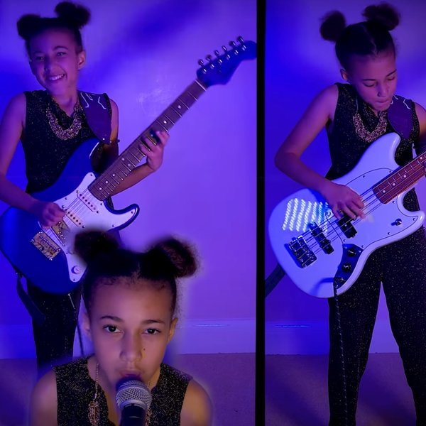 Nandi Bushell Continues Hot Streak With Cover of Muse's 'Plug In Baby'