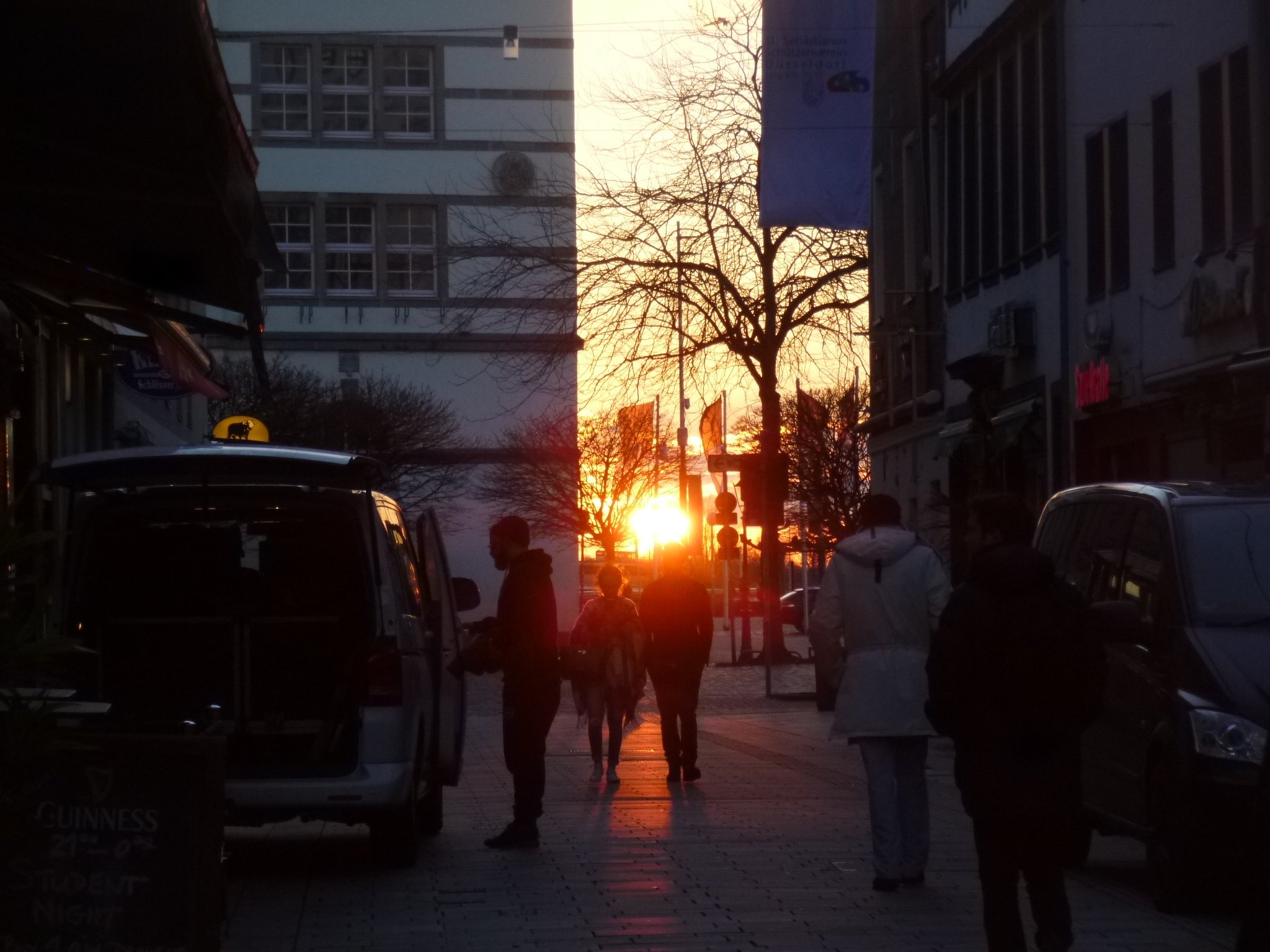 Sonnenuntergang - Altstadt