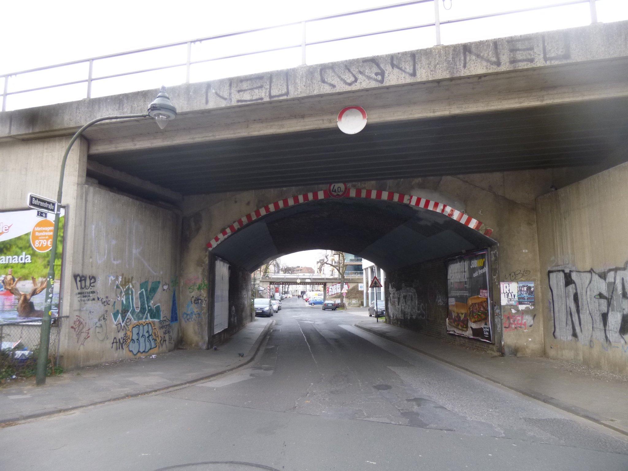 Unterführung zur Hoffeldstraße