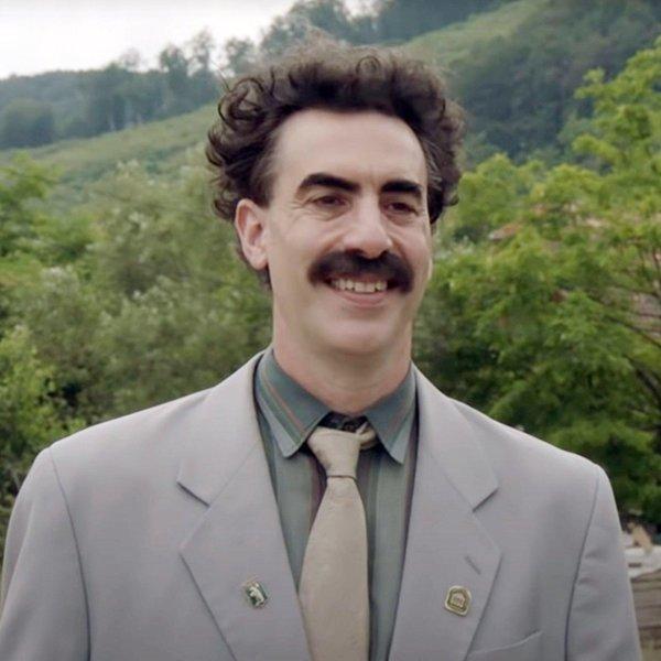 "Sacha Baron Cohen says Borat will never return: ""He's locked away in the cupboard"""